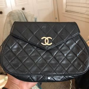 Quilted Chanel bag